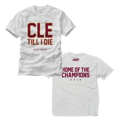 Machine Gun Kelly CLE Till I Die Champion Edition T-Shirt - White