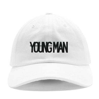 Machine Gun Kelly YOUNGMAN White Dad Hat