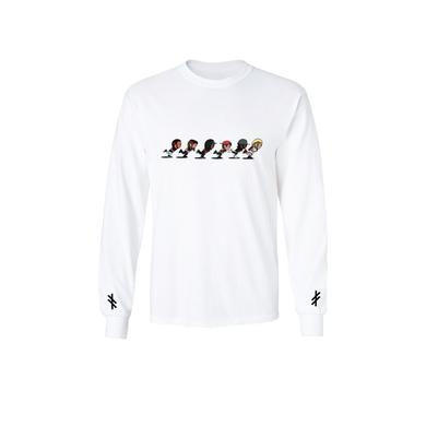 Machine Gun Kelly Alpha Omega Tour Cartoon Long Sleeve Tee