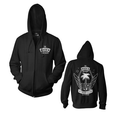 MADDEN BROTHERS Coffin Zipper Hoodie
