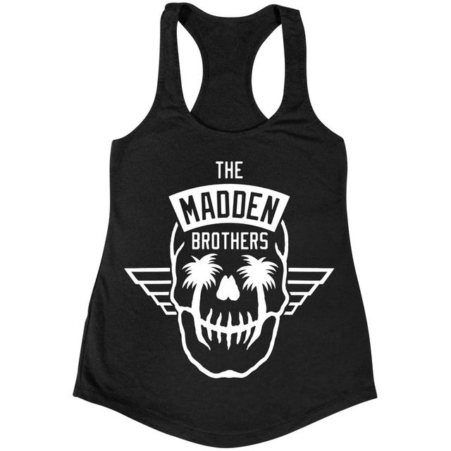 MADDEN BROTHERS Skull Wings Juniors Tank