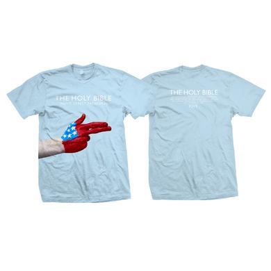 Manic Street Preachers USA Hand Gun Tour Shirt
