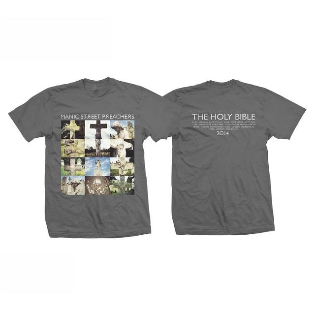 Manic Street Preachers The Holy Bible Gravestones T-Shirt