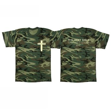 Manic Street Preachers The Holy Bible Cross Camo T-Shirt