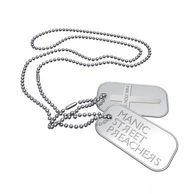 Manic Street Preachers The Holy Bible Cross Dogtags