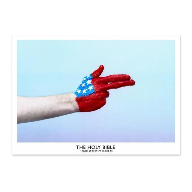Manic Street Preachers The Holy Bible USA Handgun Litho