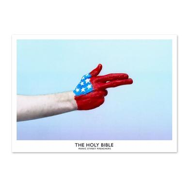 Manic Street Preachers The Holy Bible USA Handgun Litho