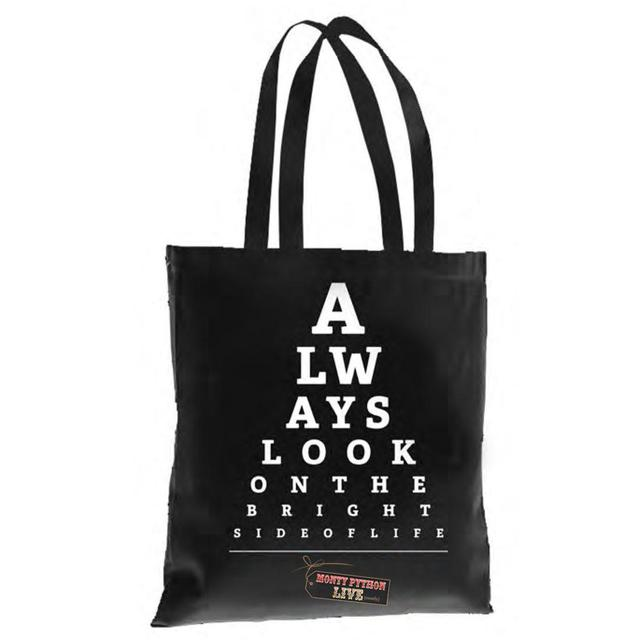 Monty Python Always Look On The Bright Side Of Life Tote Bag