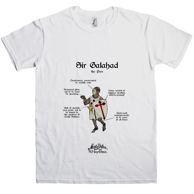 Monty Python Holy Grail Sir Galahad T-Shirt