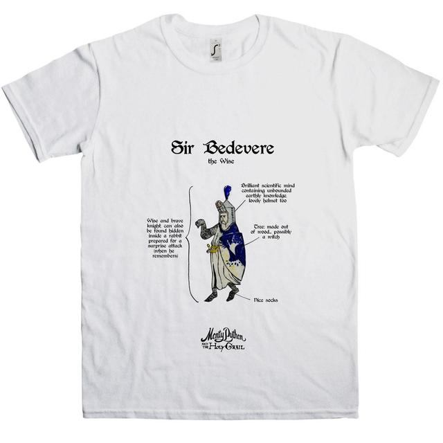 Monty Python Holy Grail Sir Bedevere T-Shirt