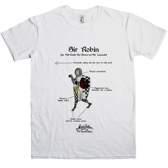 Monty Python Holy Grail Sir Robin T-Shirt