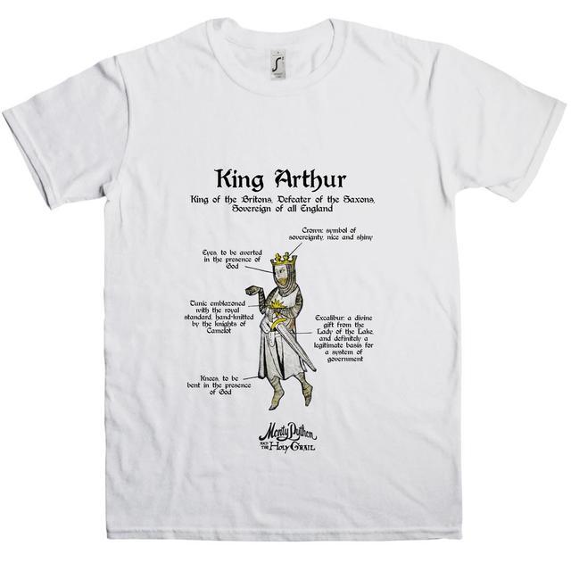 Monty Python Holy Grail King Arthur T-Shirt