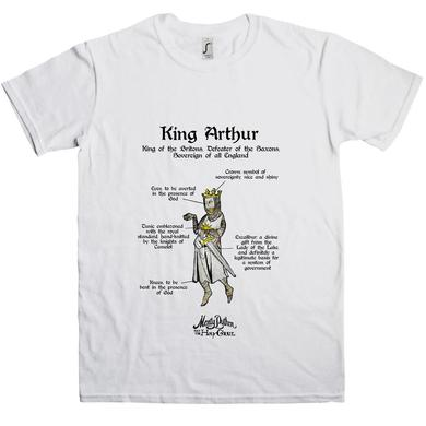 Monty Python Holy Grail King Arthur T-Shirt