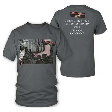 Monty Python Live (mostly) Event Charcoal T-Shirt
