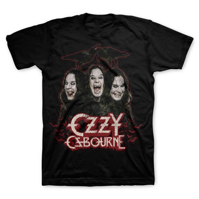 Ozzy Osbourne Crows and Bats Tee