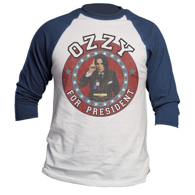 Ozzy Osbourne Ozzy for President Raglan