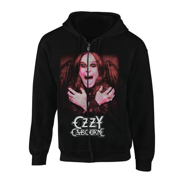 Ozzy Osbourne Ozzy Winged Zip Hoodie