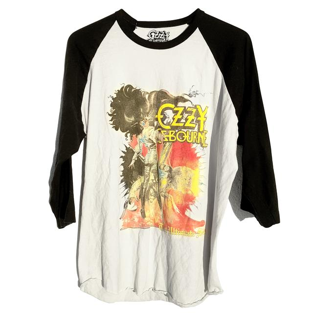 Ozzy Osbourne The Ultimate Sin Vintage Inspired Raglan