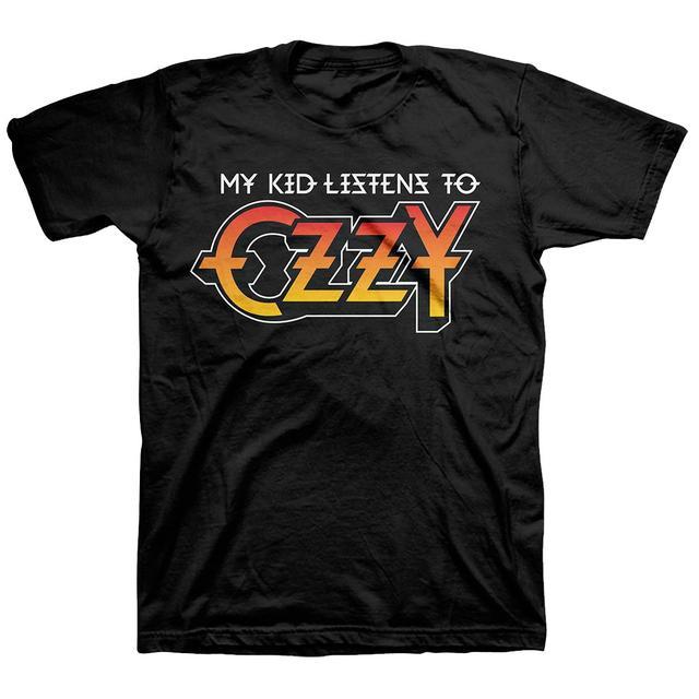 Ozzy Osbourne Listens to Ozzy Tee