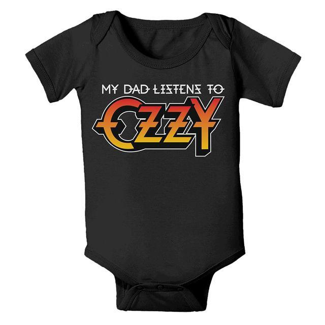 Ozzy Osbourne Listens to Ozzy Onesie