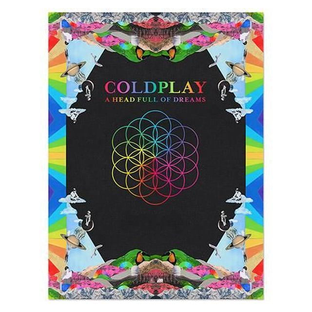 Coldplay A Head Full Of Dreams Lithograph