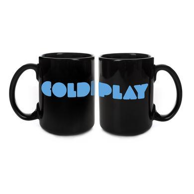 Coldplay Black Logo Mug