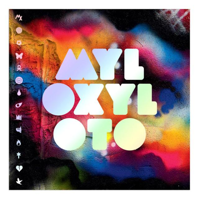 Coldplay North American Mylo Xyloto Tour Program