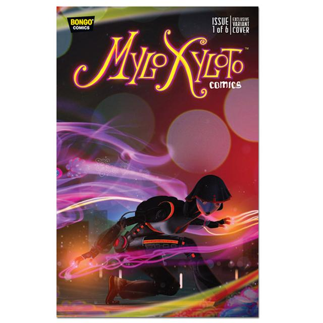 Coldplay Mylo Xyloto Issue One Comic-Con Variant Cover