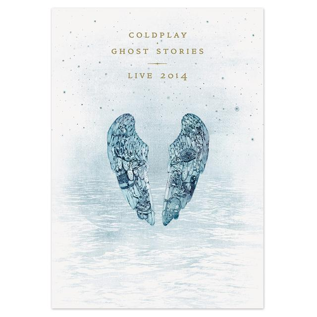 Coldplay Ghost Stories Live 2014 (DVD & CD)