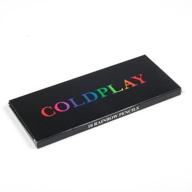 Coldplay Rainbow Pencil Set