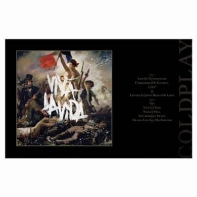 Coldplay Viva La Vida Lithograph
