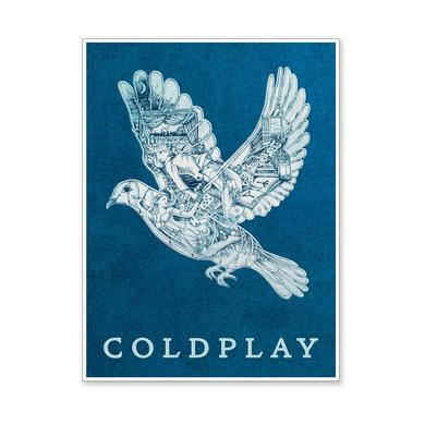 Coldplay Magic Lithograph