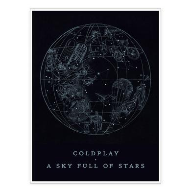Coldplay A Sky Full Of Stars Lithograph