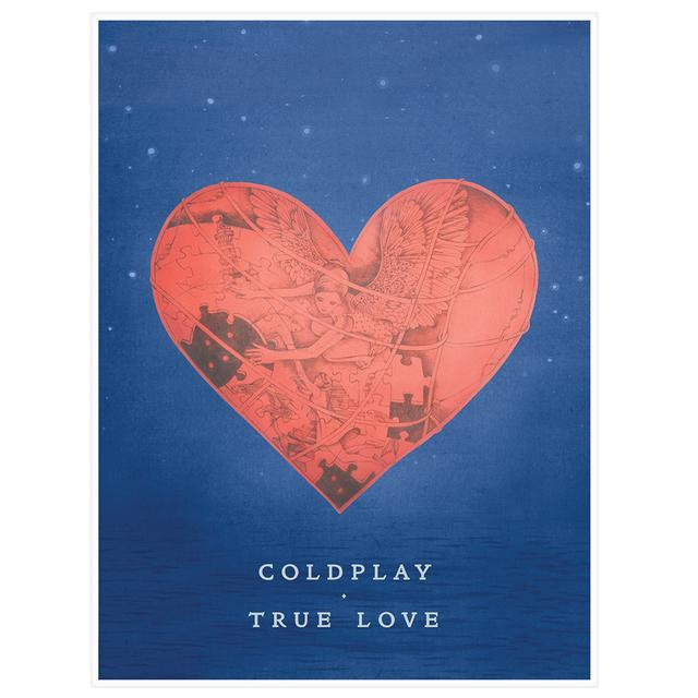 Coldplay True Love Lithograph