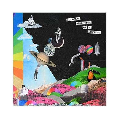 Coldplay Adventure Of A Lifetime Lithograph