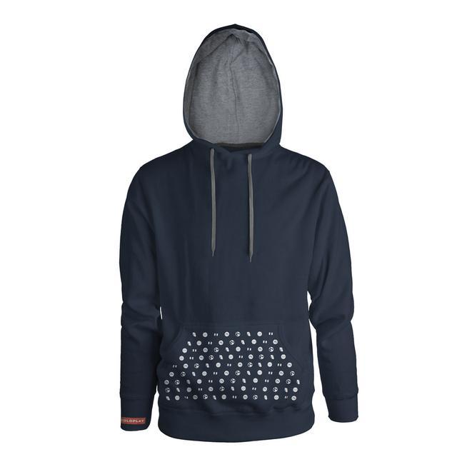 Coldplay Album Symbols Hooded Sweatshirt