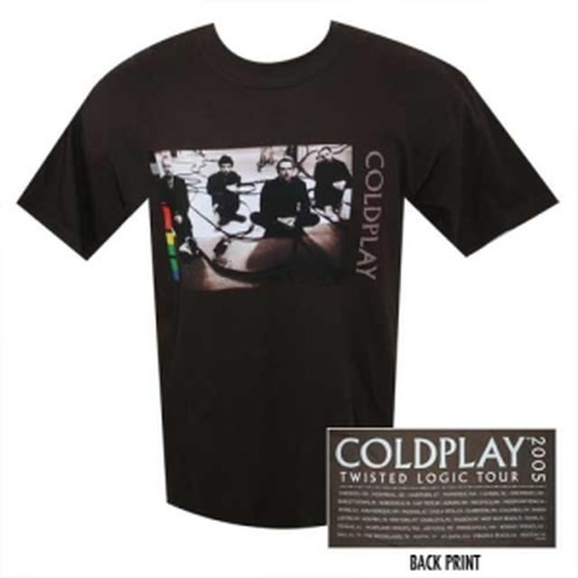 Coldplay In The Studio '05 Event Tee