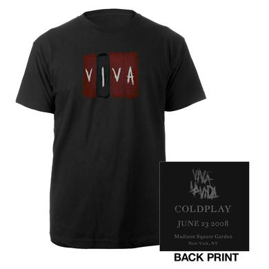 Coldplay Madison Square Garden Event Tee*