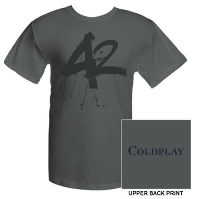Coldplay 42' Single Tee