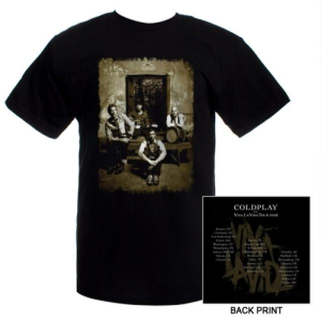 Coldplay Band Photo Tee
