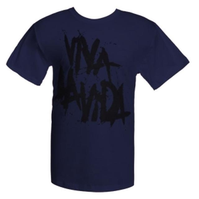 Coldplay Viva La Vida Single Tee