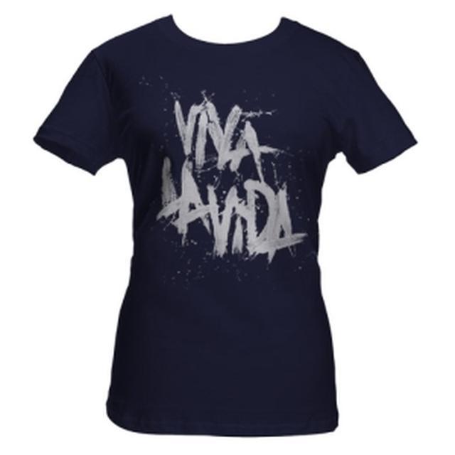 Coldplay Viva La Vida Babydoll Navy