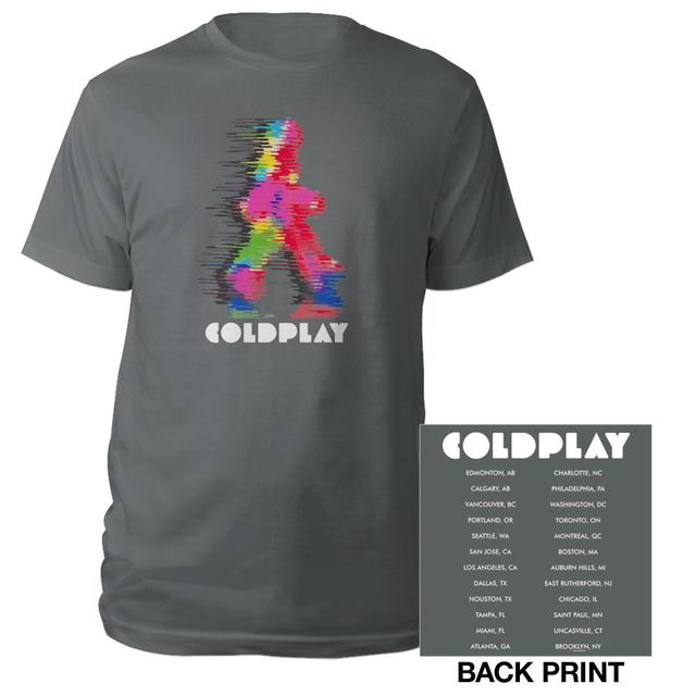 Coldplay Running Man Event Tee