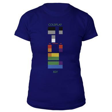 Coldplay X&Y Album Cover Women's Tee