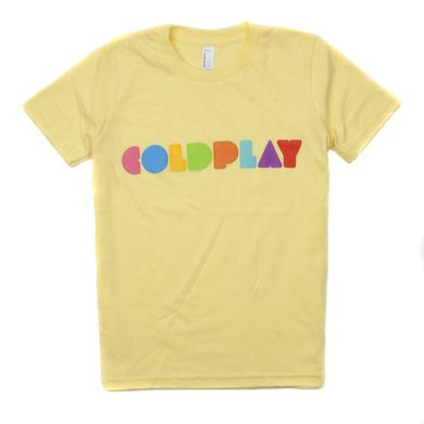 Coldplay Youth Logo Tee