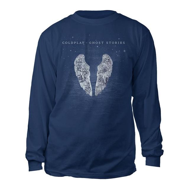 Coldplay Ghost Stories Long Sleeve Tee