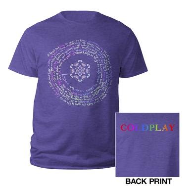 Coldplay Flower Of Life Youth Tee