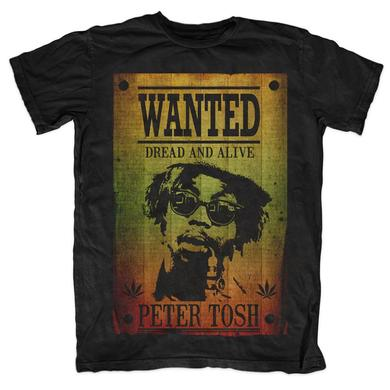 Peter Tosh Wanted Poster Tee