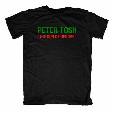 Peter Tosh Sun Of Reggae Black Tee