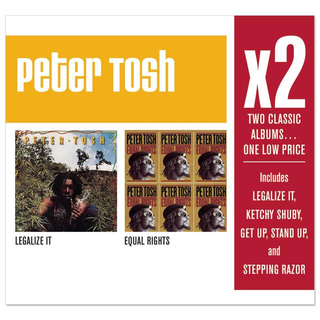 Peter Tosh X2 (Legalize It/Equal Rights) CD